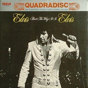 That's The Way It Is - Quadradisc from Japan