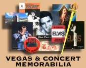 A SELECTION OF VEGAS & CONCERT MEMORABILIA